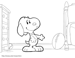 Snoopy And Woodstock Pdf Printable Coloring Page Peanuts Peanuts