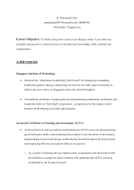 Resume Models Magnificent Newest Modified Resume After Acta