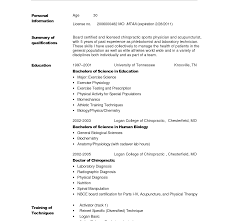 Basic Cover Letter For Resume Example Chronological Additional