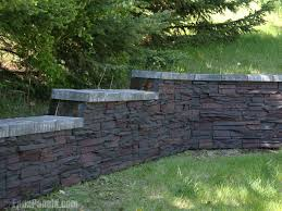 stackable stone retaining wall stacked stone stacked stone retaining wall blocks