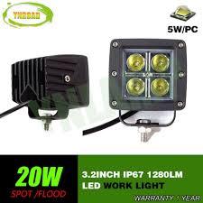 20w Cree Led Work Light Hot Item 3 2inch 20w Auto Lamp Led Work Light With Cree Leds
