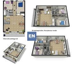 Huis Plattegrond 3d