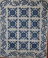 Border. | Ouilts | Pinterest | Blue quilts, Applique quilts and ... & Indigo Sand Dollar Block Hand applique quilt from Ocean Waves Quilt Guild  BORDER Adamdwight.com