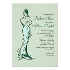 charity invitations & announcements zazzle co uk Wedding Invitations Charity Uk couture fashion show invitation wedding invitations charity uk