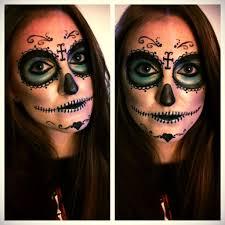 picture of sugar skull makeup