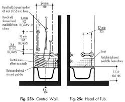 ada bathtub controls and accessories for shower and bathtub guidelines harbor city supply ada bathroom height