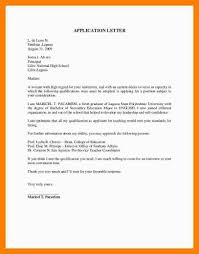 Ideas Of Example Of Application Letter For Fresh Graduates Business