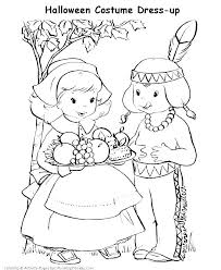 Pilgrim Coloring Pages Free Cremzempme