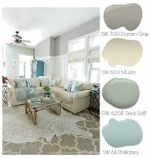 paint colors for family roomDorian Gray Family Room Reveal with Gallery Wall  Home Stories A to Z