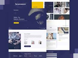 Photography Website Template Free Psd Psd Templates