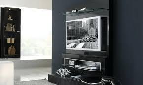 Astonishing Furniture For Living Room Decoration With Various Wall Cabinet  Doors Interesting Modern Dark Grey Tv Stand Barn Door Black