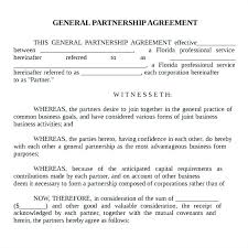 Simple Investment Agreement Template Partnership Contract Template
