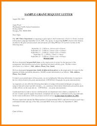 Stunning Grant Proposal Letter Images Sample Resumes Sample