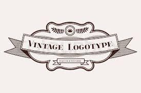 Vintage Logo Vector Vintage Old Style Logo Icon Template Stock Vector Colourbox