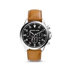 michael kors men discount coach handbags outlet online michael kors gage silver tone leather watch