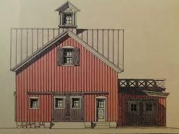 Hardline Design Hardline Design Study Drawing For Proposed Barn In