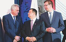Image result for aleksandar vucic i slobodan milosevic fotos