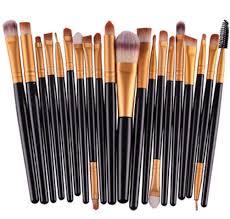20pcs make up brushes professional cosmetic plastic handle basic eyebrow eyeshadow maa lip makeup brush set