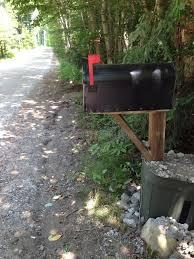 Mailbox flag up stock image Image of road rural mailbox 42803505