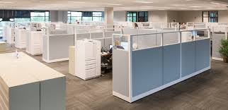 Office panels dividers Separator Office Cubicles National Business Furniture The Complete Guide To Cubicles Room Dividers Partitions Nbf Blog