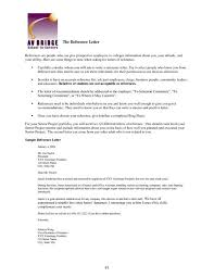 Personal References Sheet Luxury Sample Reference Sheet References