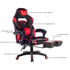 crazy office chairs. amazoncom merax racing office chair red and black pu leather home computer gaming with headrest lumbar support kitchen u0026 crazy chairs e