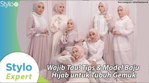 Outfit dengan bahan yang halus dan jatuh. Model Baju Muslim Hijab Gaya Untuk Badan Gemuk Ala Desainer Indonesia Barli Asmara Stylo Id Youtube