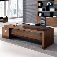 2017 hot luxury executive office desk wooden office desk on