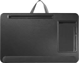 insignia 17 multia lap desk black grey larger front