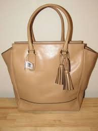 NEW Coach Legacy Leather Tan Camel Large Tanner Tote Bag Handbag Purse NWT  19924