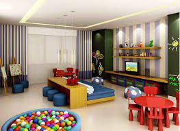 cool basement ideas for kids. Bedroom : Captivating Cool Kids Ideas With Red Combined Cream Wooden Loft Beds Be Equipped Bookshelf And Orange Storage Stair Also Basement For