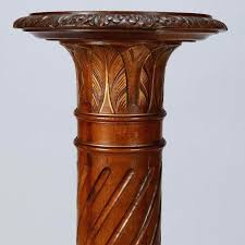 wood pedestal plant stands back to pedestal plant stand home ideas carved wood pedestal plant stand