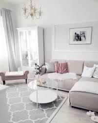 Wohnlandschaft Moderne Lounge Neubau Wohnzimmer Rosa