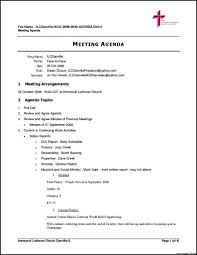 Weekly Team Meeting Agenda Template - Columbiaconnections.org
