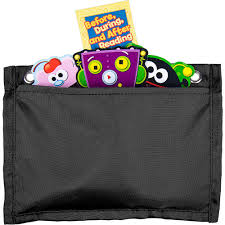 Magnetic Board Buddies Black Pocket Chart Pocket Chart