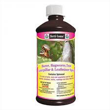 Borer Bagworm Leafminer Spray