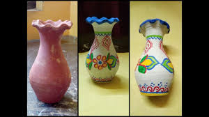 Designs For Flower Pot Painting How To Decorate Flower Pot How To Paint Flower Pot