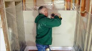 How to prepare a shower alcove or bathtub walls for tile using ...