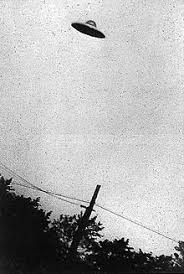 photograph of an alleged ufo in paic new jersey taken on july 31 1952