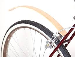 wooden rear mudguards ar recycle bicycle