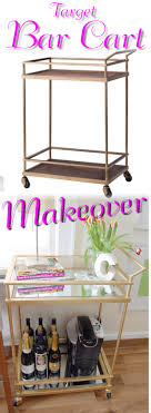 Design Master No 731 Brilliant Gold Colortool Spray Gold Mirrored Target Bar Cart Hack