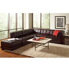 macys leather sectional sofa. Sectional Sofas: Macy S Milano Brown Leather Sofa Revistapacheco Regarding Macys T