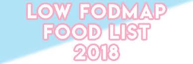 Fodmap Food List 2019 For Ibs Uk Worldwide