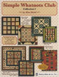 34 best kim diehl quilts images on Pinterest   Commercial ... & Simple Whatnots Club Collection 2, 2015 by Kim Diehl Adamdwight.com