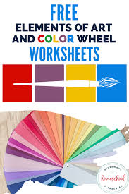 Both pdf and eddx formats are available. Free Elements Of Art And Color Wheel Worksheets Homeschool Giveaways