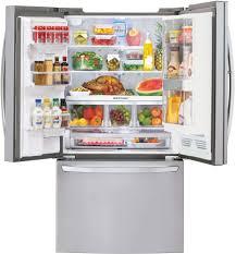 Largest Capacity Refrigerator Lg Lfxs32766s 36 Inch French Door Refrigerator With Door In Door