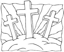 Religious Easter Coloring Pages Printable Free Christian Coloring