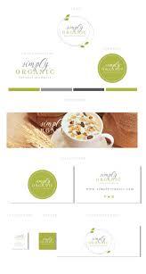 Natural Products Logo Design Branding Kit Logo Design Organic Products Logo Natural