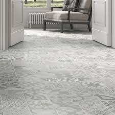 Patterned Floor Tiles Bathroom Pamesa Provenzal Grey Pattern Vintage Floors Tiles Bathrooms Kitchen