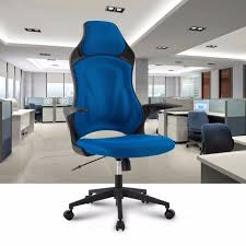 ergonomic high back mesh office executive gaming chair 360 degree swivel with knee tilt